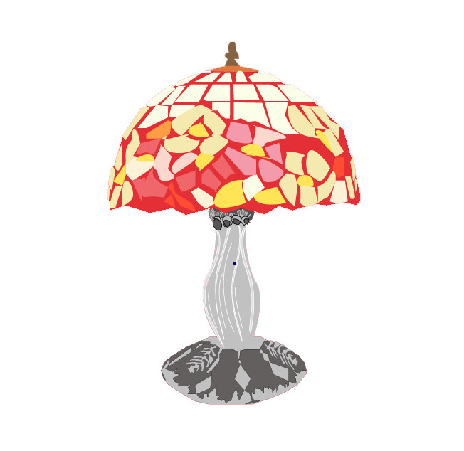 Christie Sherry Tiffany Lamp Clean